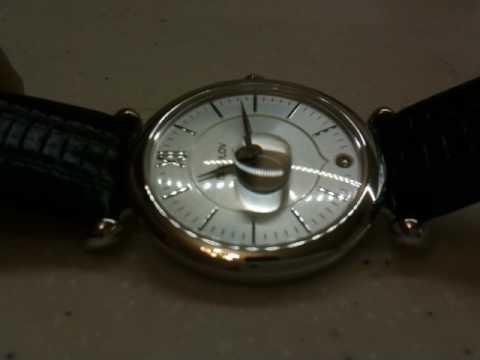 Серебряные женские часы  SOKOLOV. Тест стекла.