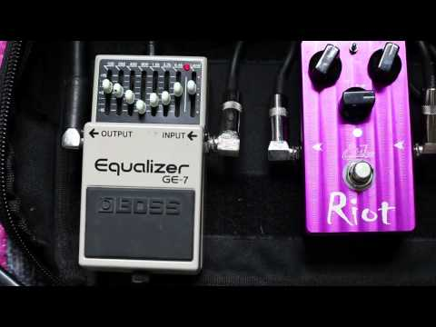 Boss GE-7 Graphic Equaliser Review