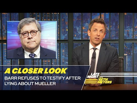 Barr Refuses to Testify After Lying About Mueller: A Closer Look