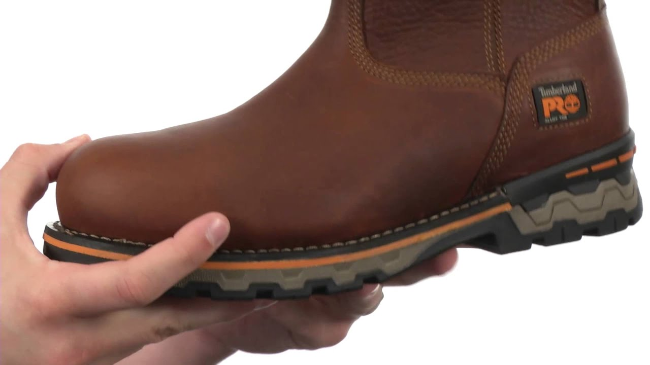 132afb26ddf0 Timberland PRO AG Boss Pull-on SKU 8477275 - YouTube