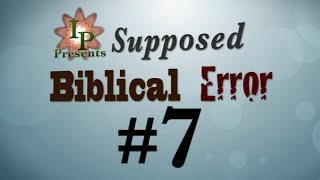 Supposed Bible Error #7 (The Jordan River Geography)