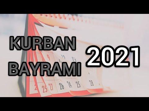 KURBAN BAYRAMI 2021 NE ZAMAN ? KURBAN BAYRAMI HANGİ GÜNE GELİYOR ?