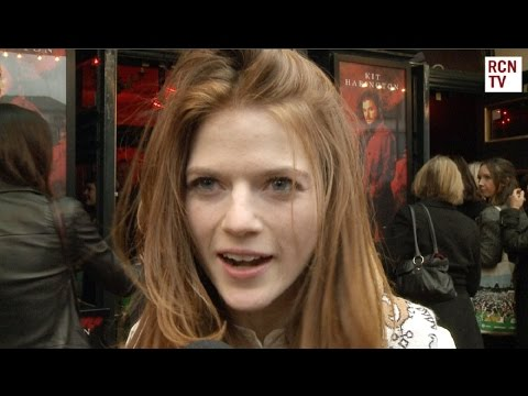 Rose Leslie Praises Kit Harrington