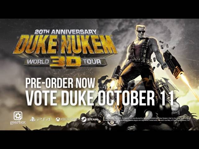 Duke Nukem 3D: 20th Anniversary World Tour (видео)