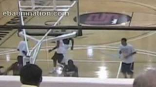 Lebron getting dunked on at Summer Camp