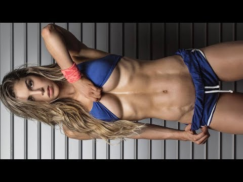 Amazing Female Fitness Model Workout - Beast In Beauty - Intense Workout Next Level 💪