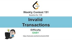 1169  Invalid Transactions