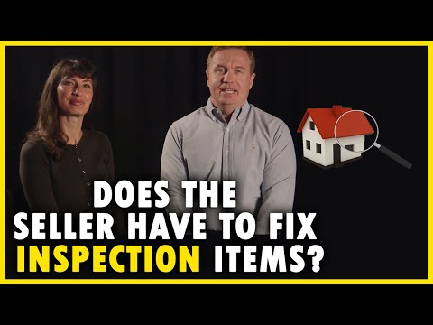 Fixing Inspection Items During a Sale