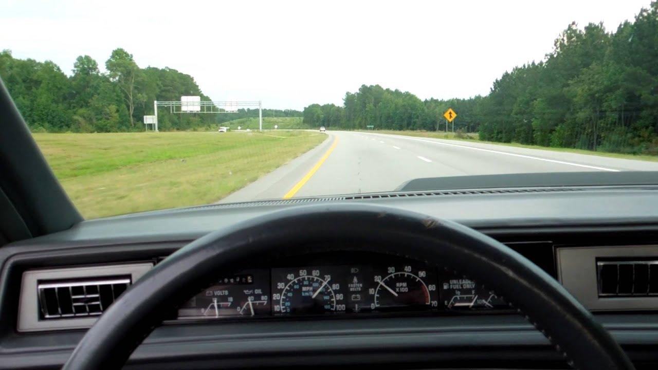 medium resolution of 1988 buick lesabre t type random driving video