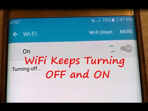 How to Fix Samsung Galaxy Wifi Keeps Turning On and Off Automatically