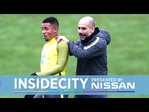 GABRIEL JESUS TRAINS & CHAPPY TURNS BLUE! | Inside City 228