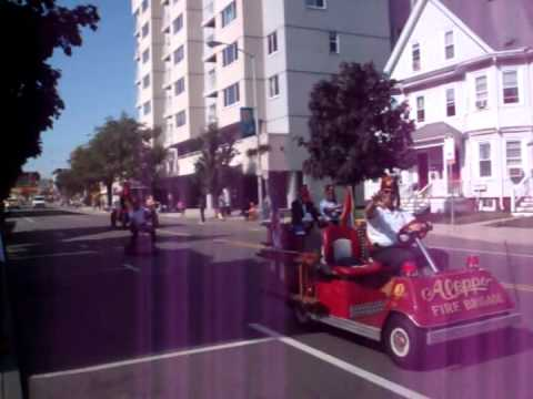 EJ, Webster School, Everett, MA Homecoming Parade.avi