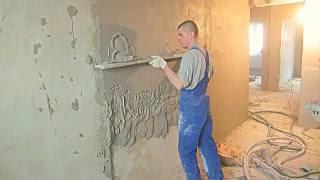 !видео механизированная штукатурка стен(, 2015-05-28T12:57:28.000Z)