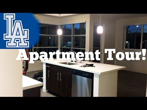 Los Angeles Apartment Tour | Empty Apartment Tour | First LA Apartment