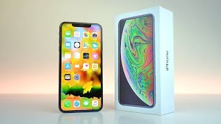 iPhone XS Max DUAL SIM Model - UNBOXING!