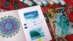 Art ♡ Quick wave sketches | Sketchbook Sunday #44