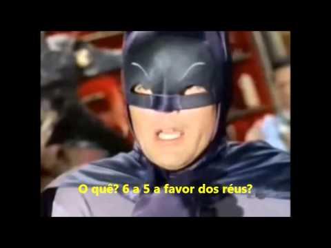 Tabefes do Batman JB na Brasília infringente