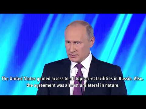 Download Youtube: Putin Slams US Over Nuclear Treaties: Russia Gave You Uranium, You Repaid Us By Bombing Serbia