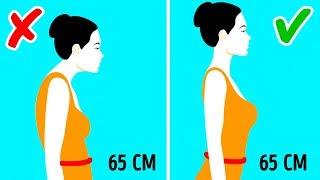5 простых упражнений для тонкой талии и подтянутого живота
