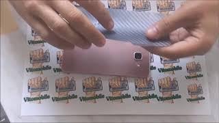 Інструкція з поклейкикарбоновои плівки налицевую сторонусма