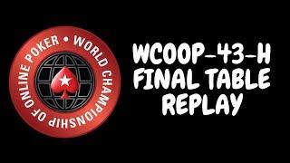 WCOOP 2018 | $25,000 NLHE Event 43-H with Linus Loeliger