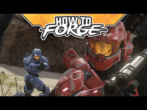 """How To Forge - """"Power Weapons"""" (Halo: MCC)"""