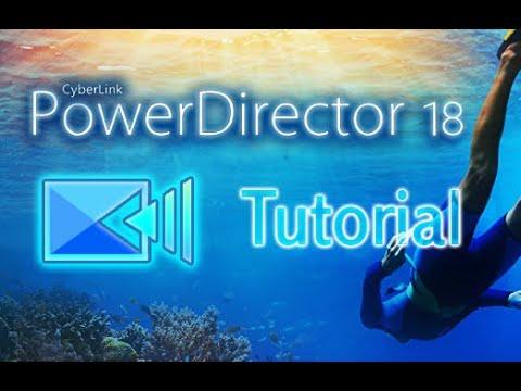 CyberLink PowerDirector 18 - Tutorial For Beginners [+Overview]