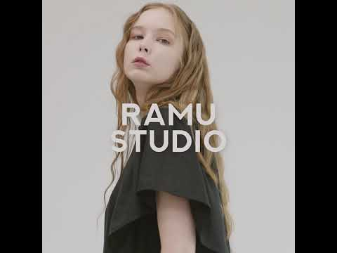 RAMU FRILL SQUARE NECK OPS  프릴 스퀘어넥 원피스 black