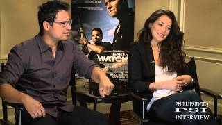 Phillip Siddiq interviews Michael Pena and Natalie Martinez for