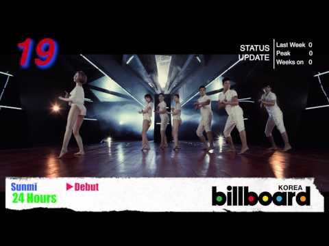[Aug 28th 2013] Billboard Korea K-POP Hot100 Top50