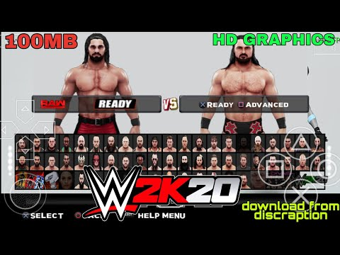 [100MB] WWE 2K20 FOR ANDROID PSP | HOW TO DOWNLOAD WWE 2K20 FOR ANDROID | TECH BY VINEET