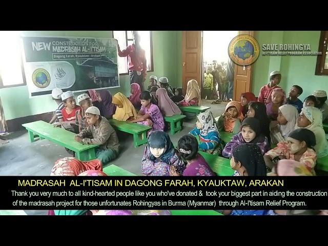 (WAKAF) MADRASAH FOR ROHINGYAS IN ARAKAN, MYANMAR
