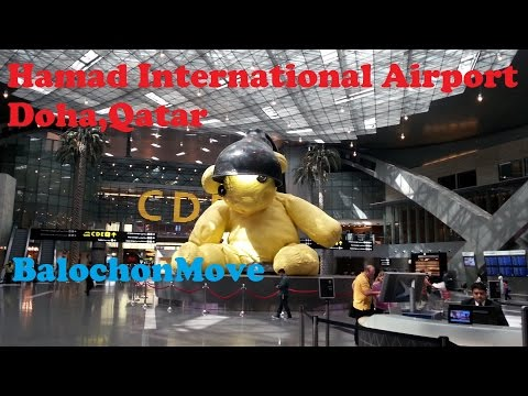 Doha International Airport (Slow immigration process)