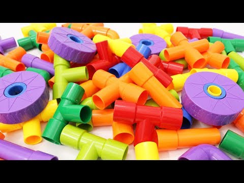 Building Blocks Toys for Children FUNTOK Water Pipe Blocks for Kids