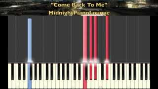 ♫ Come Back To Me by Janet Jackson Piano Tutorial In Ab Major ♫