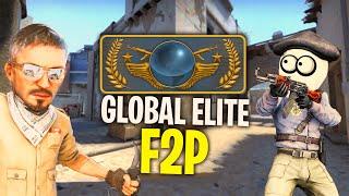 CS:GO ale wbijam GLOBAL ELITE na F2P xD