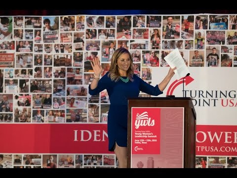 Katie Pavlich speaks at Turning Point USA's Young Women's Leadership Summit