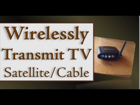 How To Install A Wireless Tv Satellite Amp Cable Audio Video