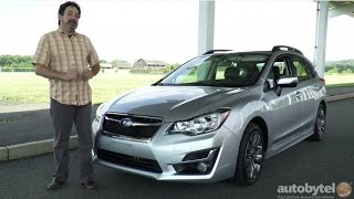 2015 Subaru Impreza AWD Wagon Test Drive Video Review