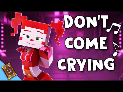 """""""Don't Come Crying"""" [VERSION A] Minecraft FNAF SL Animated Music Video (Song by TryHardNinja)"""