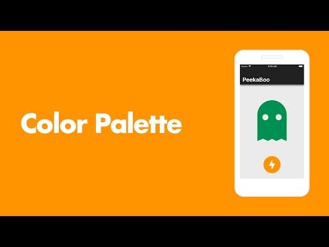 PeekaBoo iOS App #7: Color Palette | Swift 4.2 and Xcode 10
