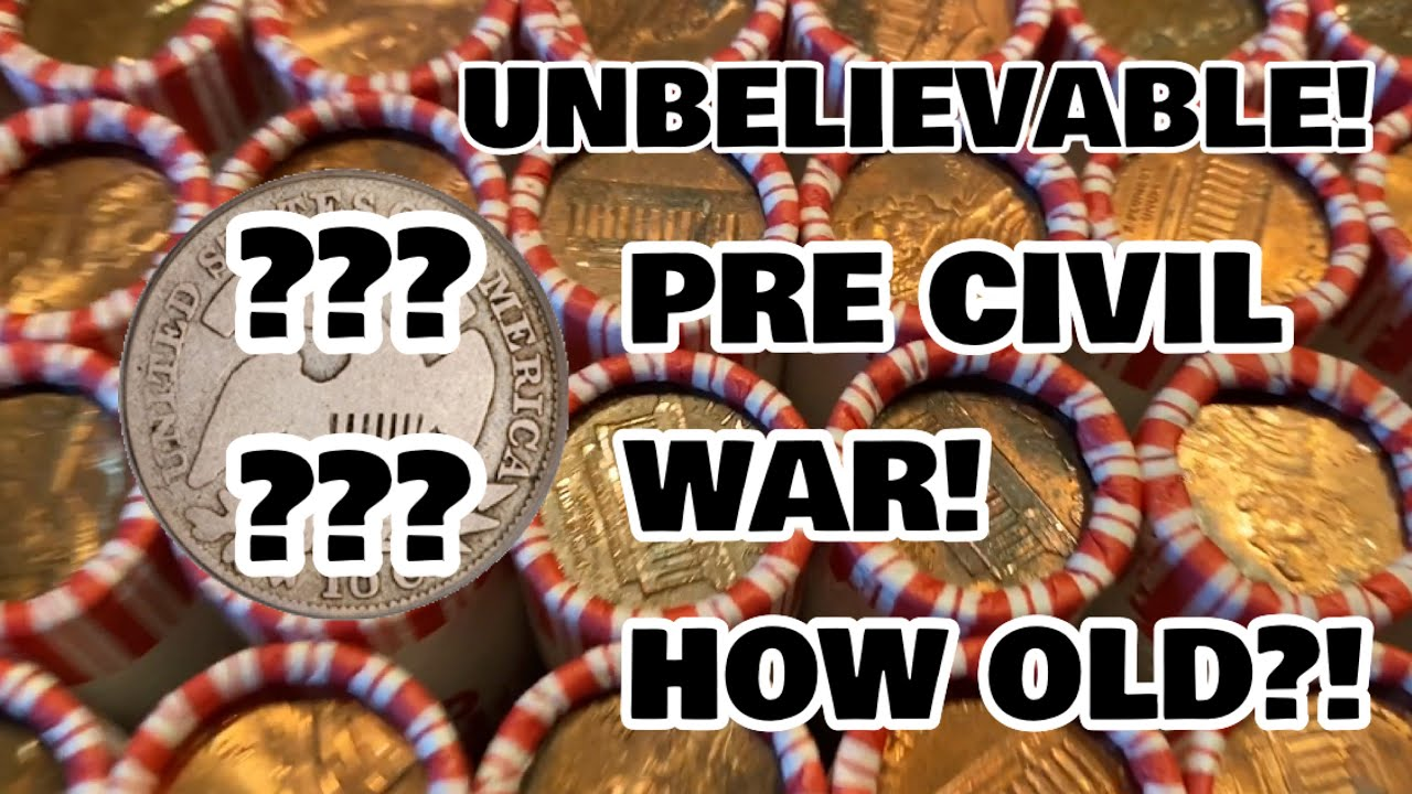 UNBELIEVABLE PRE CIVIL WAR COIN FOUND IN A BOX OF PENNIES! WATCH TILL THE END!
