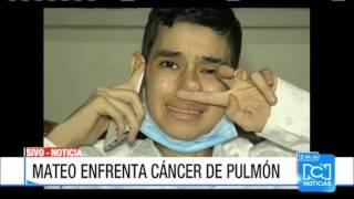 Mateo, niño que da batalla contra cancer cumple su sueño de conocer a James Rodríguez