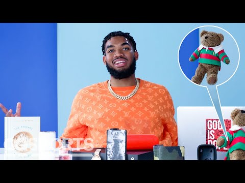 10 Things Karl-Anthony Towns Can't Live Without | GQ Sports