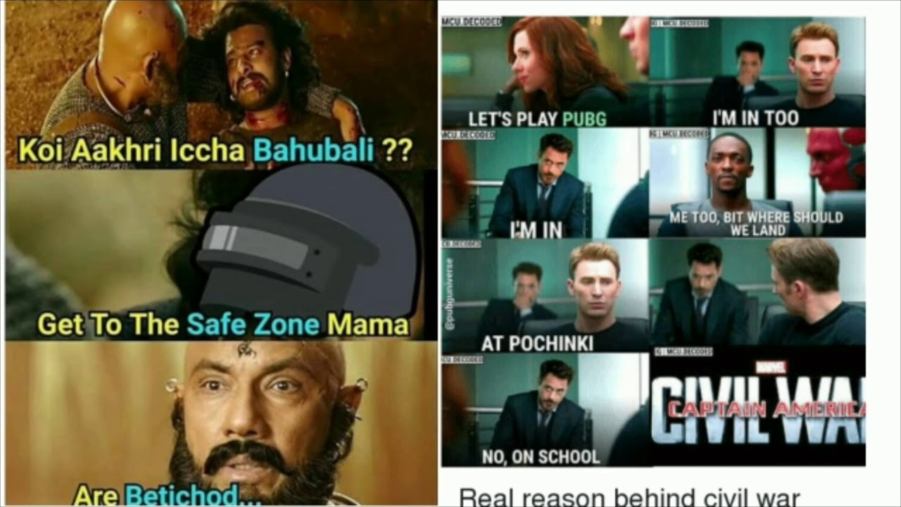 Only true pubg mobile player will understand this videos pubg meme