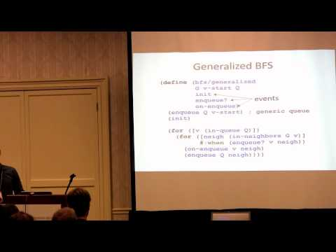 (fourth RacketCon): Stephen Chang — A Boost-Inspired Graph Library for Racket