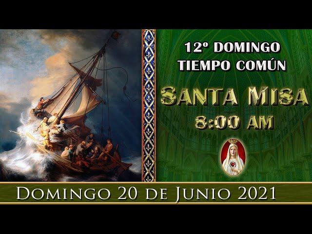 ⛪ Santa Misa ⚜️ Domingo 20 de Junio 8:00 AM - POR TUS INTENCIONES | Caballeros de la Virgen
