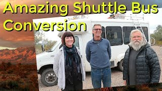 Amazing Shuttle Bus Tour and Interview Part 1- Meet Eric and Robbyn