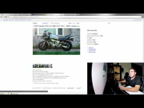 Picking Out, Obtaining, and Financing a Motorcycle