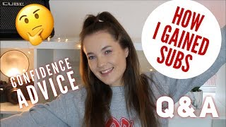 HOW TO GAIN SUBSCRIBERS? Q&A #3